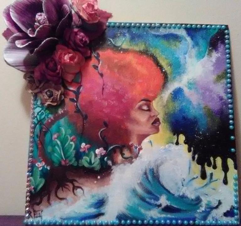 woman of fleurs
